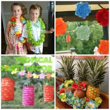 Tropical Themed Clothes - 20 ideas for a tropical luau party