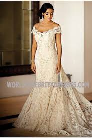 wedding dresses for less mazza lace the shoulder wedding dresses for less