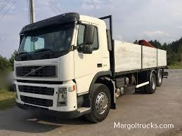 volvo 880 truck volvo fm 12 300 km 6x2 z dzwigiem palfinger do budowlanki flatbed