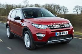 red range rover land rover discovery sport review