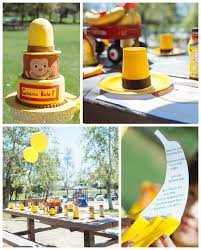 curious george birthday party curious george birthday party karaspartyideas curious george