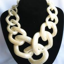 big chunky necklace images Shop vintage costume jewelry pearl necklaces on wanelo jpg