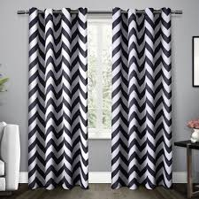 Gray And White Chevron Curtains Chevron Curtains You U0027ll Love Wayfair Ca
