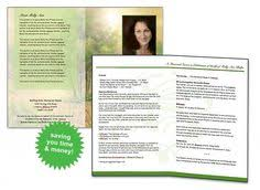 Making A Funeral Program How To Make A Memorial Program Free Sample Funeral Program Http