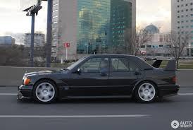 mercedes benz 190e 2 5 16v evo ii 30 june 2016 autogespot