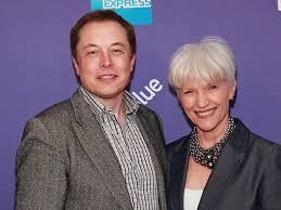 elon musk family maye musk appeared in a virgin america ad caign fortune