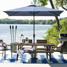 Outdoor Patio Set With Umbrella Patio Dining Sets Target