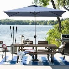 Outdoor Patio Furniture Target Mantega 6pc Rectangle Metal Patio Dining Set Black Brown