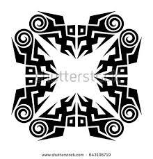 tattoo art designs tribal sketchideas creative stock vector