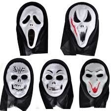 aliexpress com buy 1 pc scary ghost face scream cosplay black