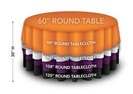 108 tablecloth on 60 table rent round tablecloths in polka dot