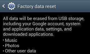 how to reset android phone how to factory reset your android phone