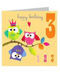 birthday cards for kids kali stileman 3rd birthday cards kali stileman