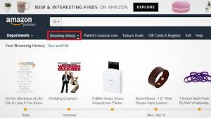 interesting finds amazon how to clear your amazon browsing history
