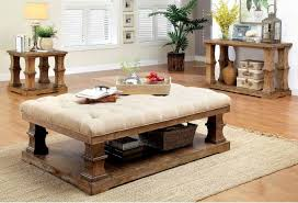 cushion coffee table with storage top cushion coffee table ottoman with pertaining to plans 14