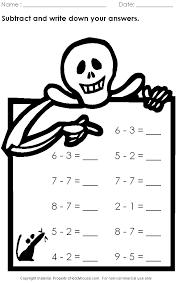 halloween worksheet 2