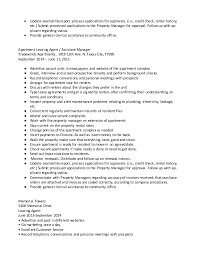 Leasing Agent Duties Resume Leasing Manager Resume Assistant Property Manager Resume Template