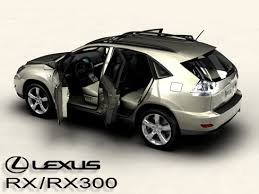 lexus rx 300 lexus rx rx300 2004 3d cgtrader