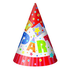 party hats party style general birthday party hats pack qty 8