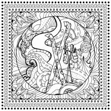 christmas coloring pages adults justcolor