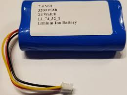big blue party 3200mah high capacity replacement battery for brookstone big blue