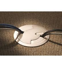 recessed floor power outlet search makers space