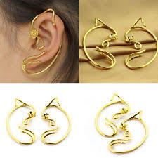 earrings s beauty and the beast earrings ear cuff jewelry gold