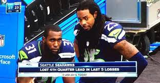 Seahawks Lose Meme - the internet is having fun with the seattle seahawks collapse