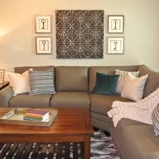 Sectional Sofa Pillows Living Room Amazing Grey Sectional Sofa Decorated Among
