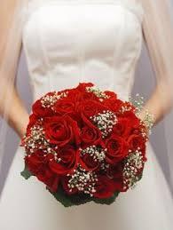 Red Wedding Bouquets Wedding Fleurs Damour