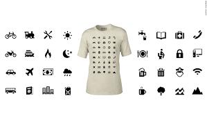travel shirts images Symbols on t shirt help wearer overcome language barriers cnn travel jpg