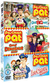 postman pat big party dinosaur hunt ice cream