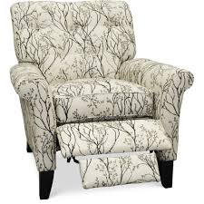 cream u0026 black high leg recliner thorne rc willey furniture store