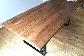 table de cuisine sur mesure design d intérieur table en bois cuisine sur mesure selena massif