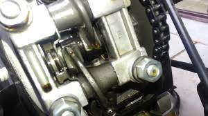 honda lead scv100 valve setup adjustment cam chain rozvodový