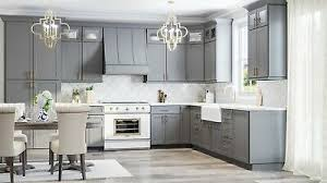 shaker style kitchen cabinets south africa rta wood 10x10 modern shaker grey kitchen cabinets gray lifetime warranty ebay