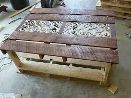 Wooden Pallet Coffee Table Coffee Tables Exquisite Diy Pallet Coffee Table Instructions