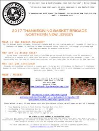 register to volunteer basket brigade new jersey