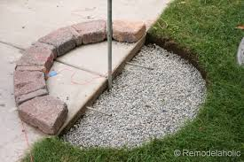 Pictures Of Patios With Fire Pits Diy Rumblestone Seat Wall And Fire Pit Kit Installation