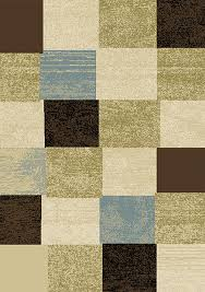 Modern Area Rugs For Sale Modern Geometric Squares 2x3 Area Rug Contemporary Carpet Approx