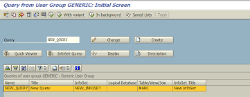 sap t code description table the correct way to create transaction codes from sap query sap