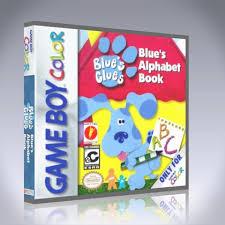 gameboy color blue u0027s clues blue u0027s alphabet book custom game