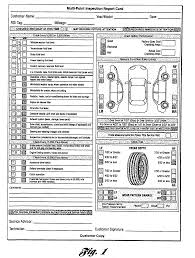 vehicle inspection report template vehicle inspection report template free and multi point inspection