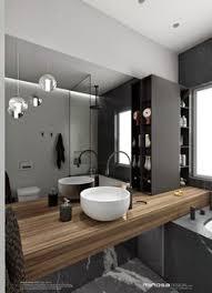 Narrow Bathroom Ideas This Bathroom Has Its Walls Covered In Tiny Black Hexagonal Tiles