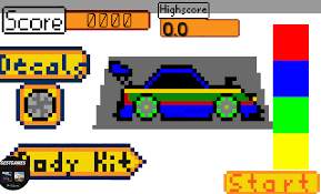 pixel car png traffic pixel car by lithuaniacompany
