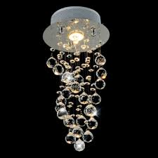 Crystal Beads For Chandelier Fashion Style Glass Prism Ceiling Lights Spiral Chandeliers