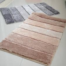 Designer Bathroom Rugs Charming Non Slip Bathroom Rugs Designer Bathroom Rugs And Mats