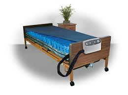 med aire low air loss mattress replacement system with alarm