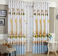 Curtains For Baby Nursery Animal Print Blackout Baby Infant Room Curtains Children