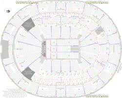 orlando amway center detailed seat u0026 row numbers end stage